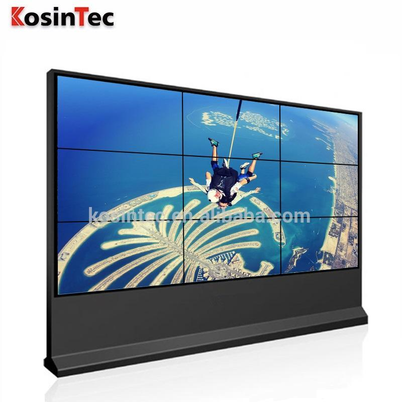 Voor 46 Inch Video Muur Grote Direct Prijs Stage Achtergrond Ultra Dunne Kloof/Edge 3X3 Video Wall