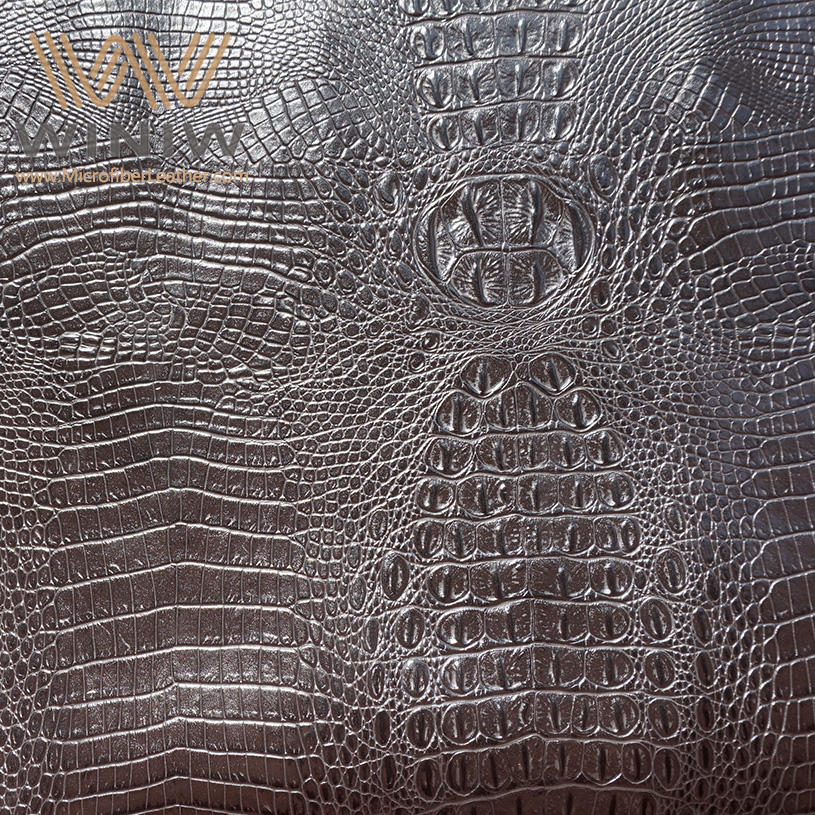 Luxury Looks Eco Faux Crocodile Skin Leather Material For Bags & Purse