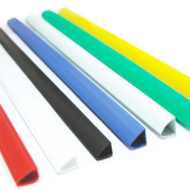 Filing Products A3 A5 L U Shape Plastic extrusion profile PVC Slide Binder Bar Folder Plastic Slide Binder