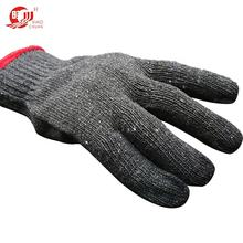 cheap industrial new style hand gloves cotton work