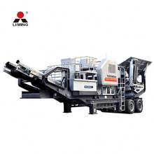 granite limestone cobble impact crusher run
