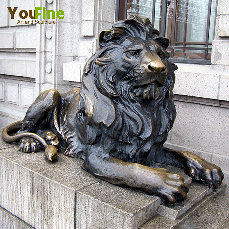 Decoration Life Size Bronze Lion Statue For Sale