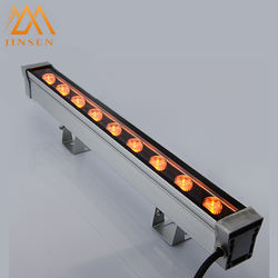 High lumen linear lighting fixture ip65  9w RGB led wall was