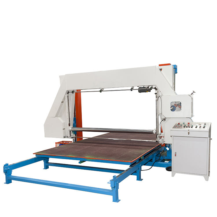 ZLD008B-1 Big Size Automatic Digital Controlled Horizontal Foam Cutting Machine for Foam Machine