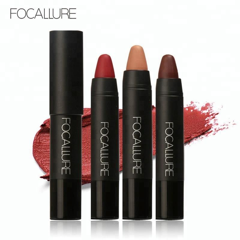 FOCALLURE 12 Colors Lip Stick Moisturizer Lipsticks Waterproof Easy to Wear Cosmetic Makeup Lips September Purchasing