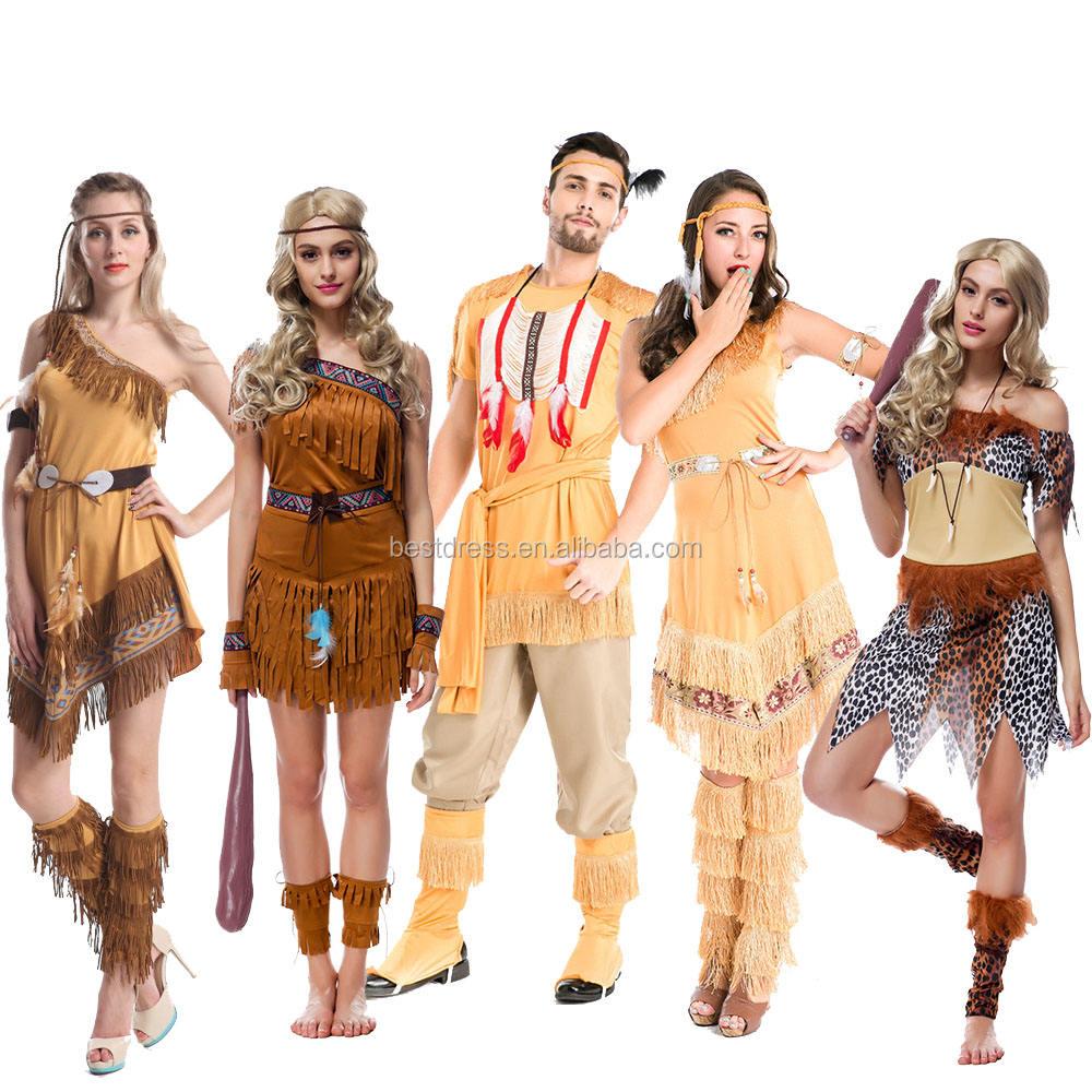 Principessa Indiana Pocahontas Vestirsi Gallina Costume