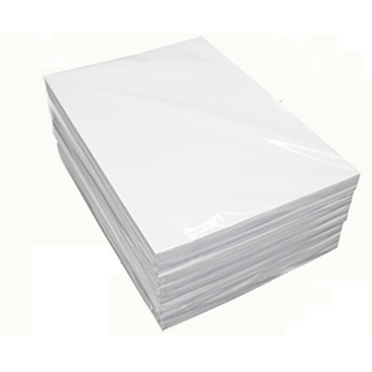 Guangzhou supplier wholesale price matte coated 120gsm 140gsm double sided matte inkjet printing photo paper A4 A3