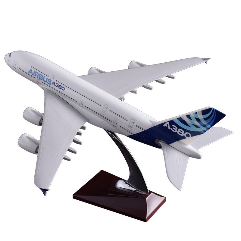 Resin plane model Airbus A380 or airplane model resin