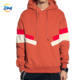 Trend color matching hooded sweater men spring and autumn models spring loose sweater drop shoulder hoodie online shopping