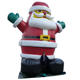 Outdoor 20ft Christmas Inflatable Santa World Outdoor Giants 20ft Christmas Inflatable Santa Claus Balloon for Xmas Decoration
