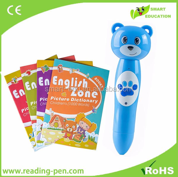 2020 Talking pen translator with audio pronunciation, DIY stickers,books