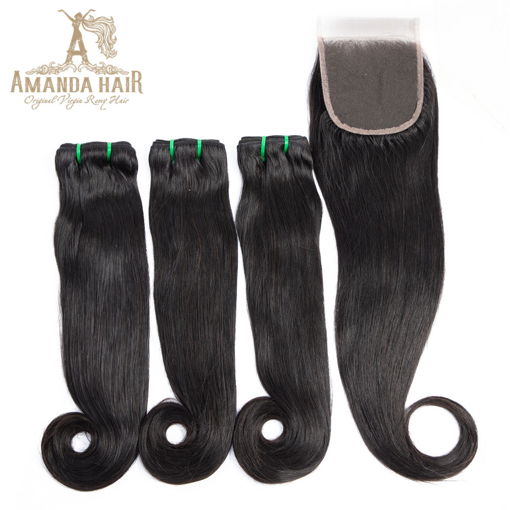 Factory Price Can Be Dyed And Styled High Quality Top Grade Virgin Human Hair Unprocessed Indian Fumi Curve Straight Bundles
