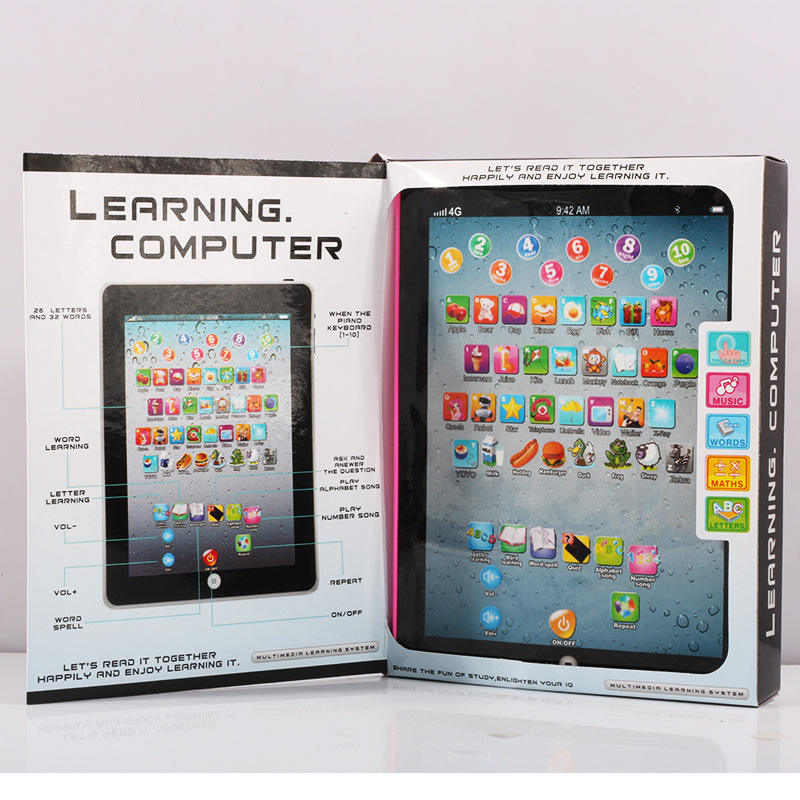 Learning Learning machines Toys Pad Learning Machine Kids Laptop PlayPad computer Learning Education Toys For Children