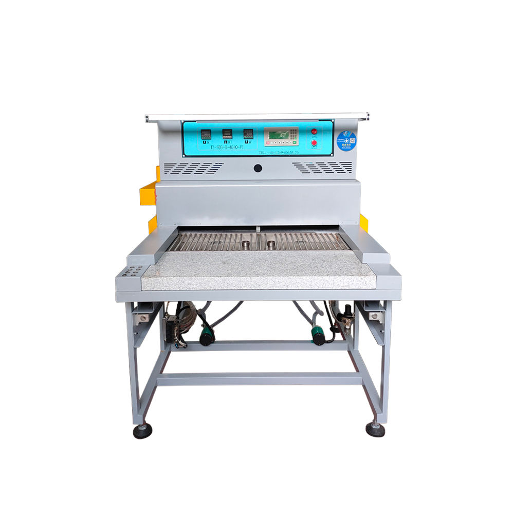 Durable full-automatic pvc heating cooling machine to make pvc label
