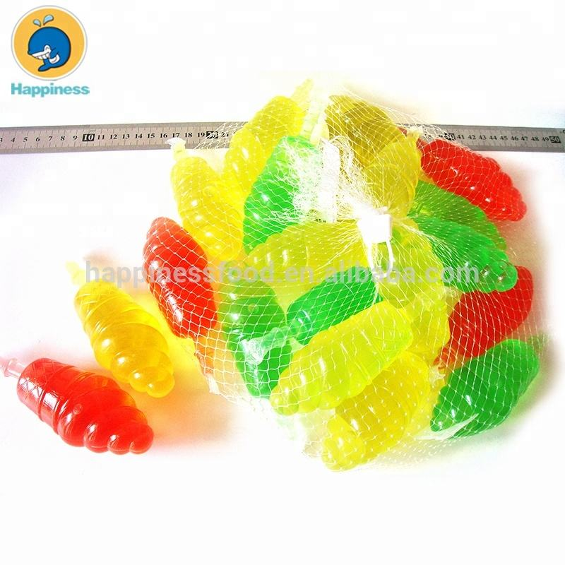 Bagged ice cream shaped fruit flavor jelly