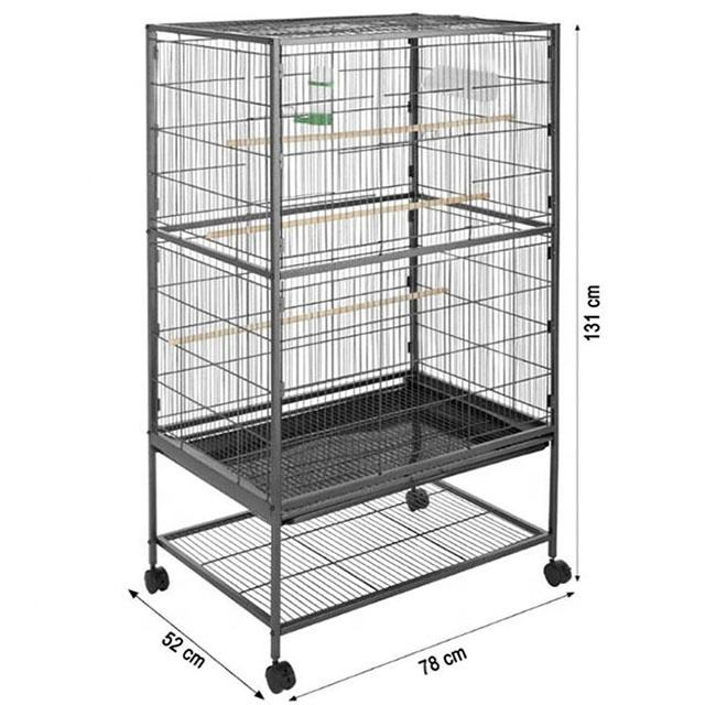 New Large Play Top Parrot Chinchilla Cockatoo Canaries Finches Pet House Wholesale Parrot Breeding Cages