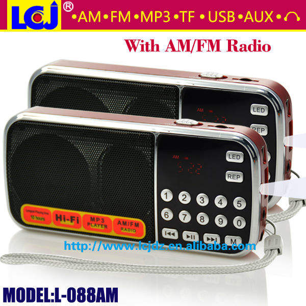L-088am mikro-stellige radio fm am radio
