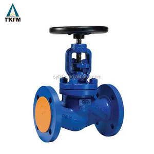 Flange type water bellows seal steel GB manufacture globe stop valve dn40 supplier