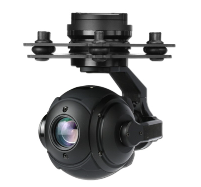 10X Optical Zooming 3-axis Gimbal Spherical High Definition With HD Camera For UAV Model Aircraft enthusiasts