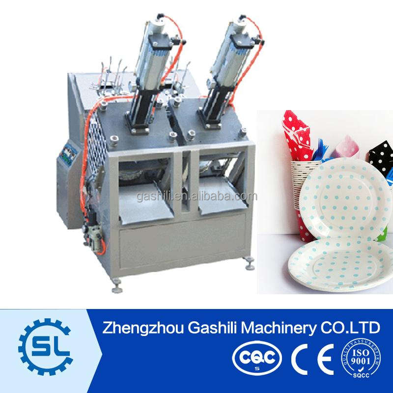 High speed chinese low cost paper plate making machines price
