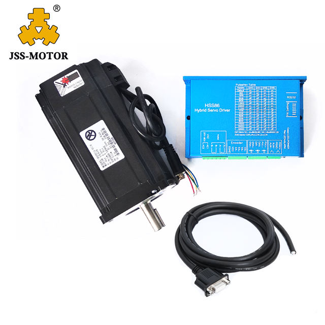 4N.m 86 Serie Closed-Loop CNC Stepper Motor Encoder HSS758 Hybrid Servo Driver