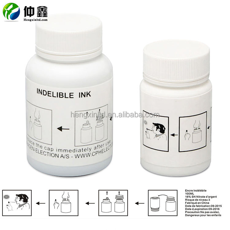 Silver nitrate ink Supplier Latest Technology Best Sale ballot election ink ,voting ink,
