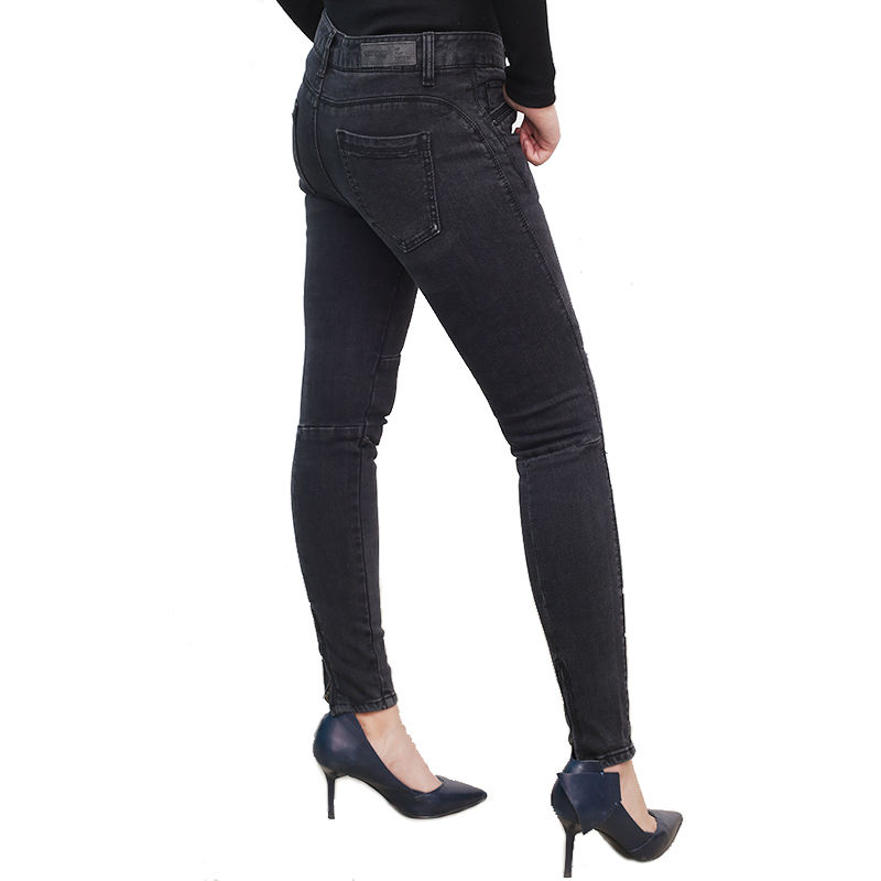girl narrow bottom jeans pants lady jeans beautiful clothing elastic waist women tight jeans