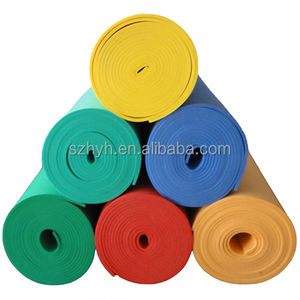 Heetste Goma Eva Foam Roll Dikte Is 0.5 Mm, 1 Mm, 2 Mm, 3 Mm, 4 Mm, 5 Mm Kan Worden Gesneden In 2 Mm 5 Mm Dik Blad