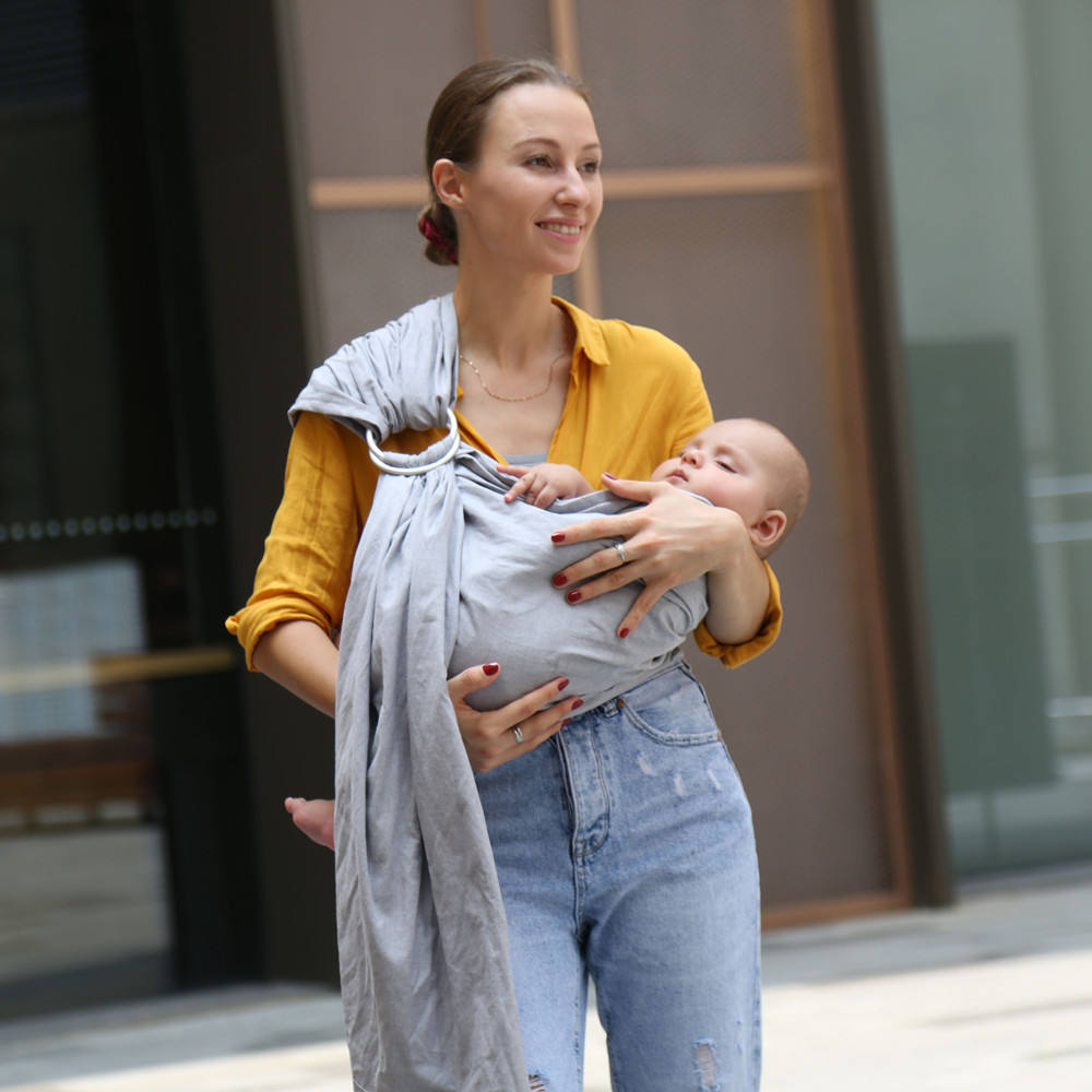 Amazon hot verkaufen custom baby wrap <span class=keywords><strong>sling</strong></span> mit <span class=keywords><strong>ring</strong></span>