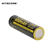 Nitecore NL14500A IMR 14500 flashlight battery 3.7V 6.5A 650mAh  lifepo4 EA11 TM10A flashlight rechargeable battery