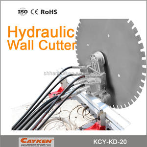 Cayken Max Saw Blade Dia 1800mm Hydraulic and Automatic Wall Saw Machine for Concrete Cutting
