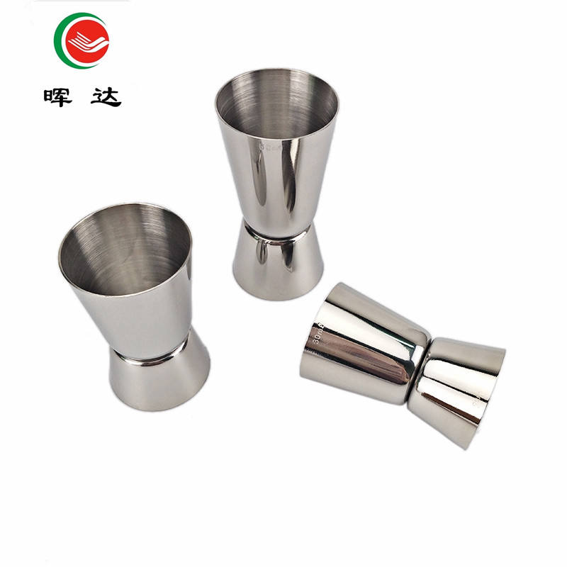 25/50ml Stainless Steel Cocktail Martini Double Measuring Jigger Shot