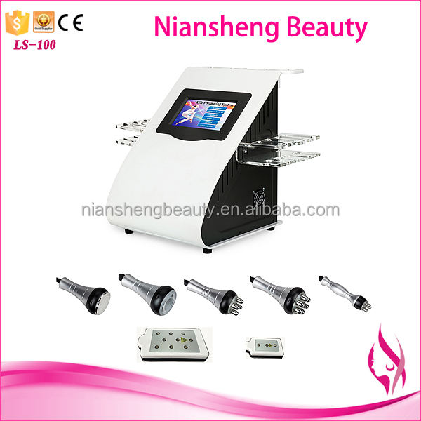 2020 New Year Sale Lipolaser cavitation vacuum radio frequency 5Mw body Slimming beauty Machine 6 In 1 wholesale