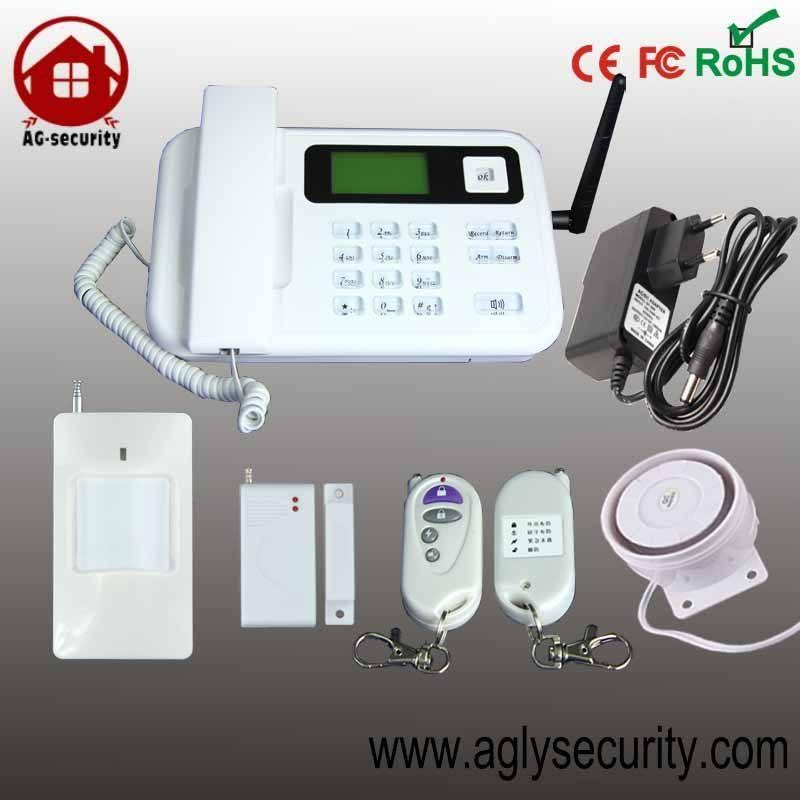 315 / 433mhz system function seguridadinalámbrica gsm home burglar alarm