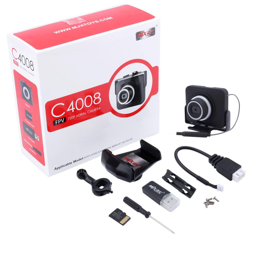 pour MJX Drone x101 x102 x104 x600 Original 1mp 720p hd Wifi FPV kemera c4018