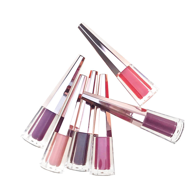 Hottest Trending Matte Vegan Cosmetics Customized Color Liquid Lipstick and Lip Gloss
