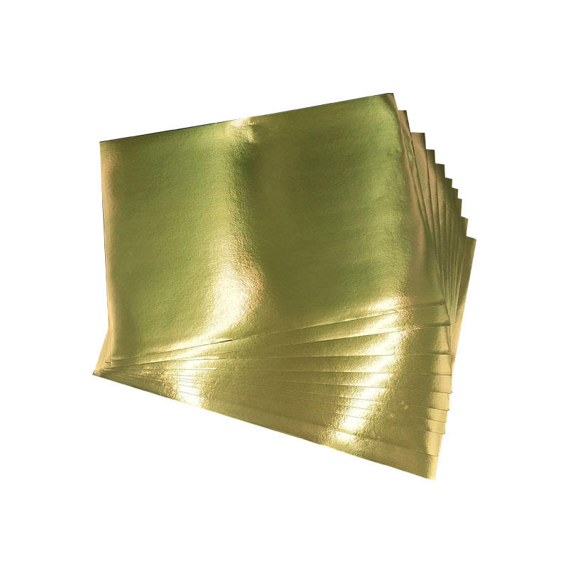Bright Gold self adhesive paper