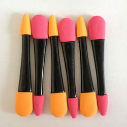Wholesales latex eyeshadow applicator stick 6pcs/pack