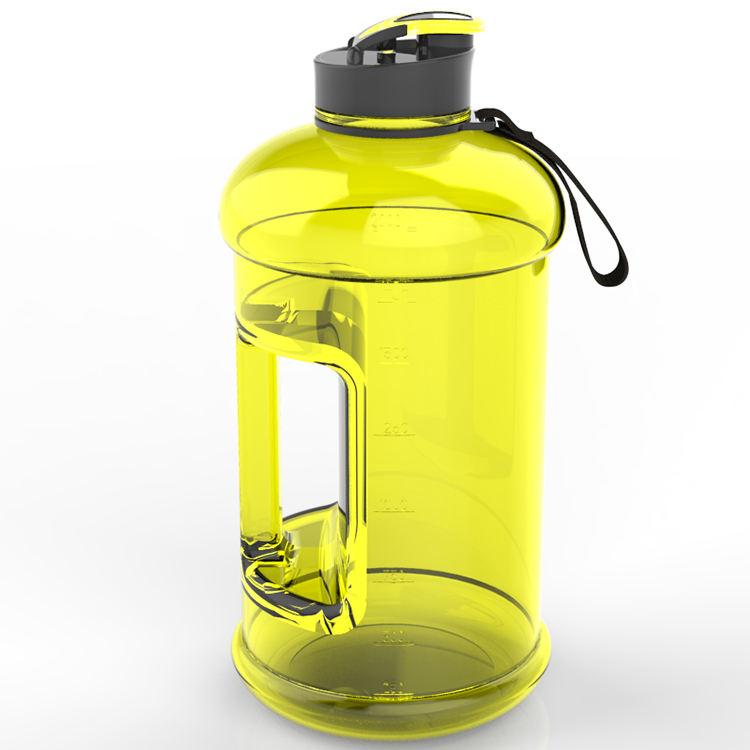 للترويج و تصميم الشعار المخصص تريتان bpa الحرة غير سامة ذات جودة عالية الرياضة زجاجة المياه البلاستيكية