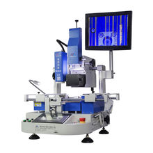 zhuomao mobile motherboard repair machine ZM-R6110 ic chip removal machine bga soldering machine better than mobile repair gun