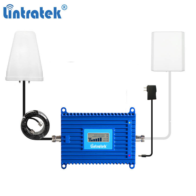 Lintratek 800 lte signal booster wifi range extender Signal Amplifier Car Radio FM/DAB+ digital integrated signal Amplifier