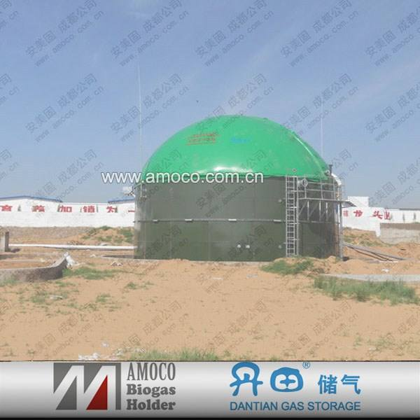 2015 Portable Assembly Methane Digester for membrane gas holder on top type/Biogas Tank