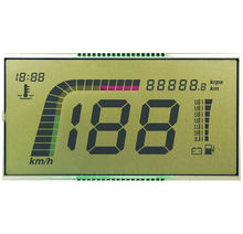 LCD display screen for motorbike