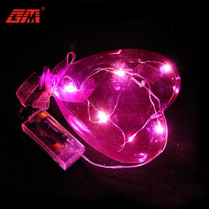 China supplier glass decoration valentines day balloon