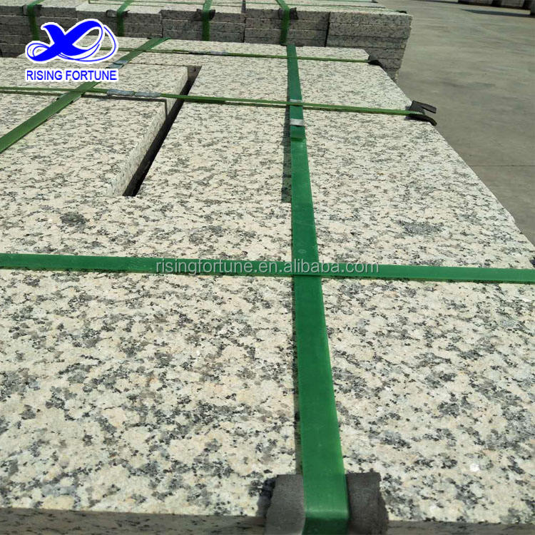 Beige granite flamed paving stone FOR SALE