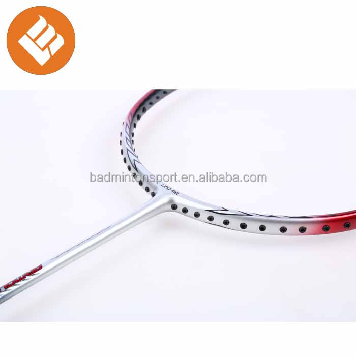 Top Selling Cheap Price New Design Carbon Fiber Customized Logo Badminton Racket