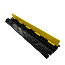 PVC Cover Rubber Speed Humps Road Bump  Ramp  Protectors Cable