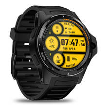 Full round screen sport smart watch 2019 Zeblaze THOR 5 4G smart watch phone with 8MP camera