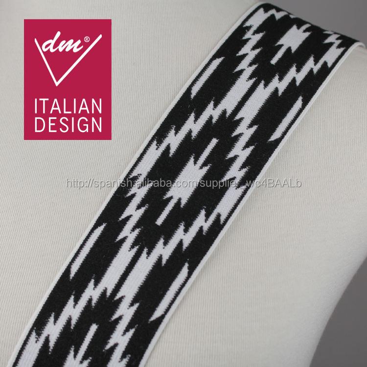 Venta al por mayor italia diseño <span class=keywords><strong>jacquard</strong></span> elástico decorativa