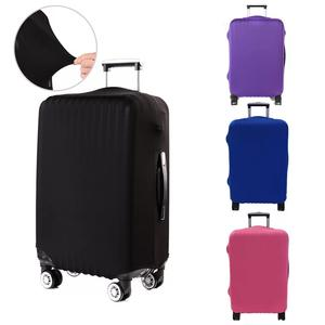 Custom polyester travel luggage protector cover protection luggage cover